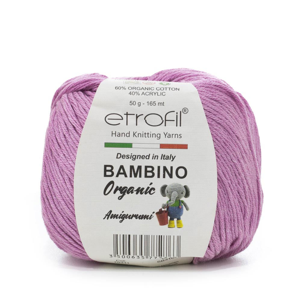 Len Etrofil Bambino Organic Amigurumi