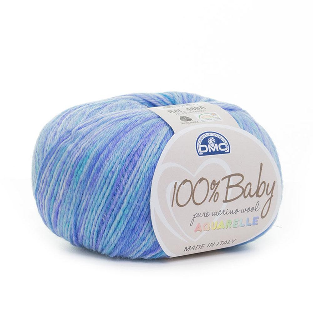 Len DMC 100% Baby Pure Merino Aquarelle