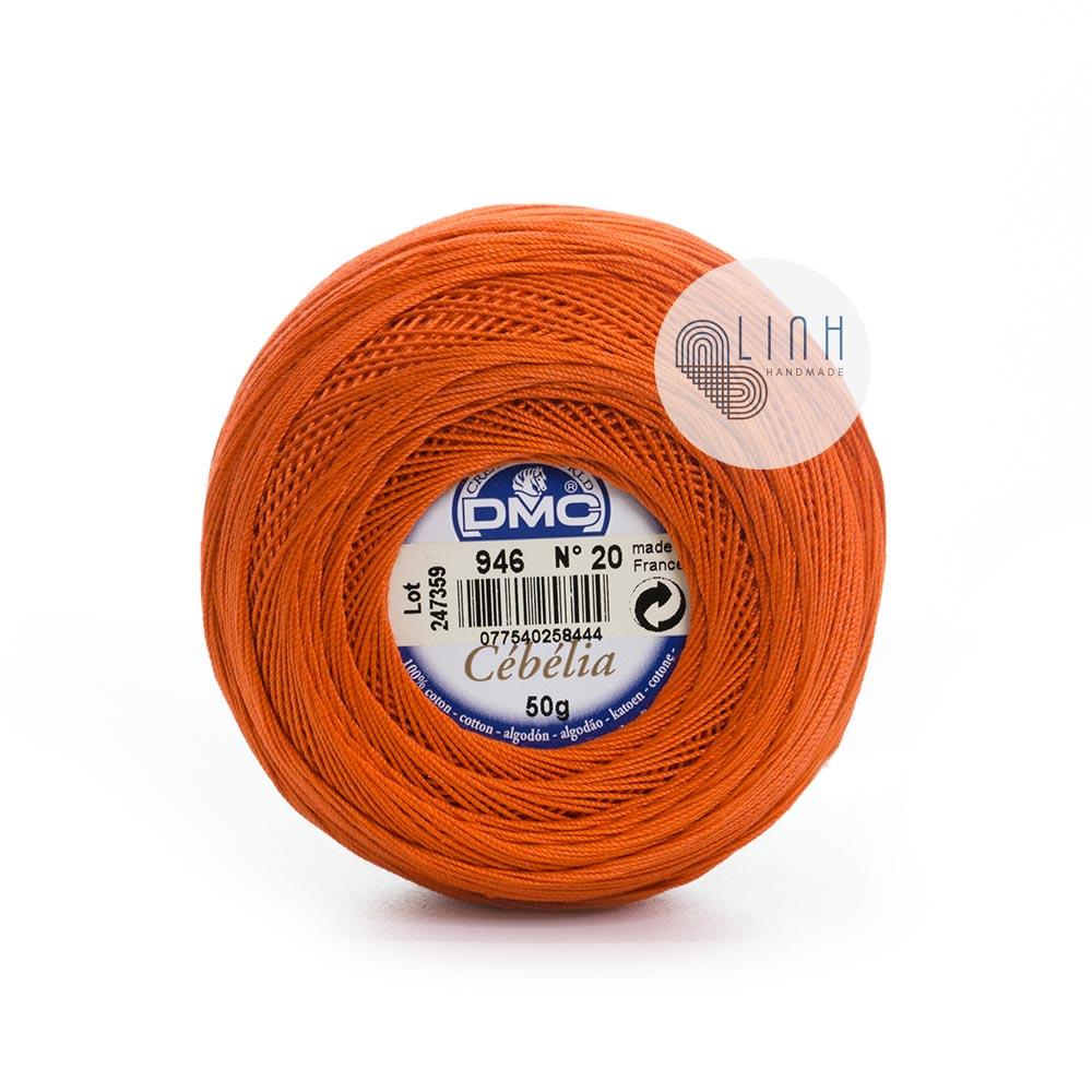 Sợi Cotton DMC Cebelia No20
