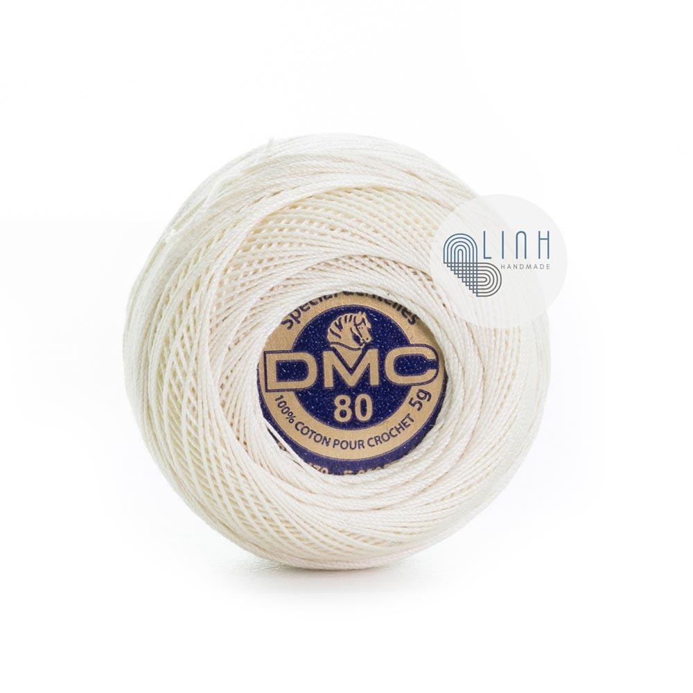Sợi DMC Brilliant Tatting Cotton No80