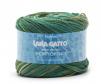 Cuộn len sợi cotton bóng pha sợi lanh linen Lana Gatto Portofino