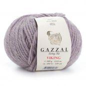 Cuộn len sợi siêu to lông cừu pha len acrylic Gazzal Viking