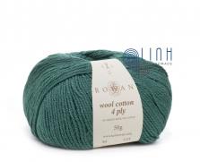 Len Rowan Wool Cotton 4 ply