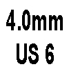 4.0mm