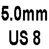 5.0mm