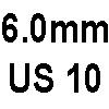 6.0mm