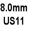 8.0mm